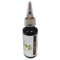 CRAZY LIBERTY Краска временная TEMP-INK, 30мл, цвет коричневый