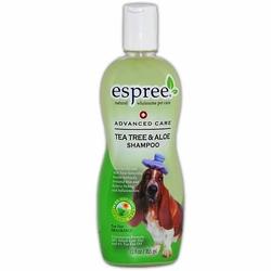 Espree Tea Tree & Aloe Shampoo шампунь для собак, чайное дерево и алоэ, 355 мл.
