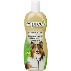 Espree Aloe Oatbath Medicated Shampoo шампунь для собак и кошек с алоэ и протеинами овса, 355 мл.