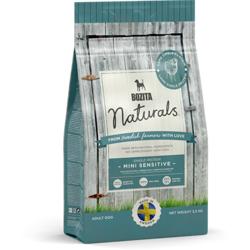 Bozita Naturals Mini Sensitive Single Protein 22/12 корм для собак мелких пород склонных к аллергии