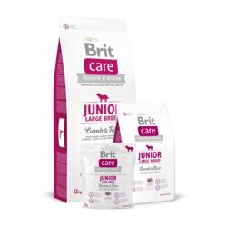 Brit Care Junior Large Breed Lamb & Rice, сухой корм для щенков крупных пород ягненок и рис