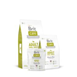 Brit Care Adult Small Breed Lamb&Rice, сухой корм для собак мелких пород ягненок и рис