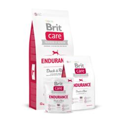 Brit Care Endurance Duck & Rice for dog для взрослых и энергичных собак с уткой и рисом