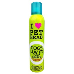 """PET HEAD OGS LUV IT Сухой шампунь для собак """"Клубничный лимонад"""" без смывания, без сульфатов и парабенов, 165 мл"""