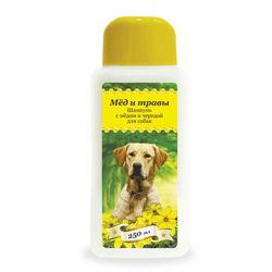 Pchelodar шампунь гигиенический для собак с мёдом и чередой (250 мл), арт. 63291