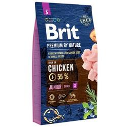 Brit Premium by Nature Junior S полнорационный корм для щенков мелких пород, беременных и кормящих сук (от 1 до 10 кг)