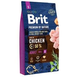 Brit Premium by Nature Adult S полнорационный для взрослых собак маленьких пород (1–10 кг)