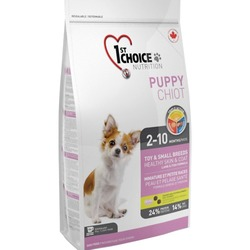 1st Choice Puppy для щенков декоративных пород с ягненком, рыбой и рисом, вес 2,72 кг