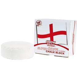 SHOW TECH English Chalk Block Super White мелок супер белый из кальция круглый в коробочке 55 гр.