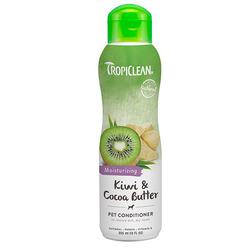 "Tropiclean Kiwi кондиционер увлажняющий ""Киви и масло какао"" для собак и кошек, 355 мл."
