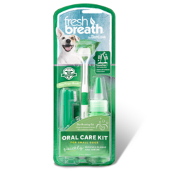 Tropiclean Набор для ухода за зубами собак мелких пород «Свежее дыхание»