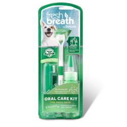 Tropiclean Набор для ухода за зубами собак средних и крупных пород «Свежее дыхание»