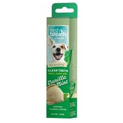 Tropiclean Гель для чистки зубов с ванилью и мятой, 59 мл