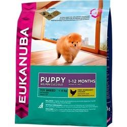 Eukanuba Puppy & Junior Toy Breed сухой корм Эукануба для щенков миниатюрных пород - курица