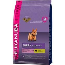 Eukanuba Puppy&Junior small breed для щенков мелких пород в возрасте от 1 до 12 месяцев с курицей