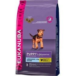 Eukanuba Puppy&Junior large breed сухой корм Эукануба для щенков крупных пород в возрасте от 1 до 24 месяцев с курицей