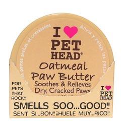 "Pet Head масло для лап с экстрактами жожоба, кокоса, овсянки, алое-вера, оливок и масла ши ""Oatmeal Paw Butter"""