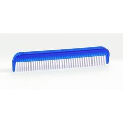 IPTS Расческа с вращающимися зубчиками средняя голубая