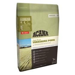 Acana Singles YORKSHIRE PORK, полноценный сбалансированный корм для собак всех пород со свининой и мускатной тыквой (50/50)