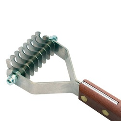 Show Tech Coat King 8 стриппинг 8 ножей с деревянной ручкой для жесткой шерсти