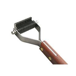 Show Tech Coat King 20 стриппинг 20 ножей с деревянной ручкой для очень мягкой шерсти