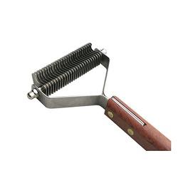 Show Tech Coat King 27 стриппинг 27 ножей с деревянной ручкой для очень мягкой шерсти, широкий