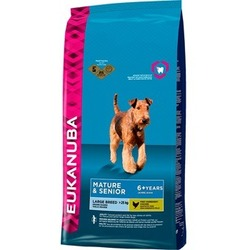 Eukanuba Mature & Senior Large Breed для пожилых собак крупных пород с курицей