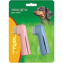 Триол зубная щетка-напальчник, 2 шт. в наборе