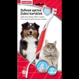Beaphar ToothBrush, зубная щетка для собак, двойная