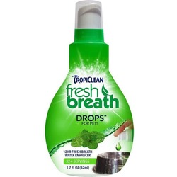 "Tropiclean Капли Fresh Breath ""Свежее дыхание"" для полости рта собак, 52 мл, арт. 1978"