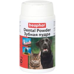 Beaphar Dental Powder зубная пудра для собак и кошек, 75 гр.