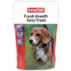 Beaphar подушечки Fresh Breath Easy Treat для чистки зубов собак, 150 гр.