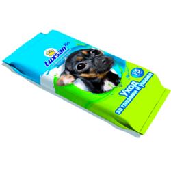 LUXSAN Pets влажные салфетки для ухода за глазами и ушами, 15 шт.