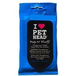 """Pet Head Салфетки гипоаллергенные """"Азиатская груша"""" для мягкого очищения шерсти,, 10 шт"""