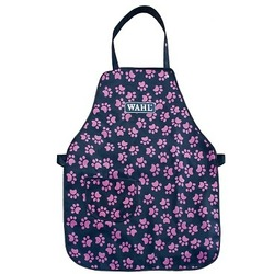 Wahl фартук грумера Logo Aprons Pocket, черный с розовыми лапками