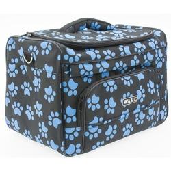 Wahl сумка грумера Paw Print bag черная с голубыми лапками