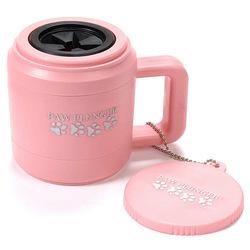 Лапомойка Paw Plunger, малая, цвет розовый