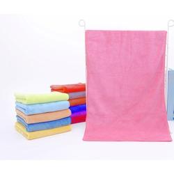 Полотенце для животных из микрофибры, светло розовое