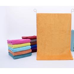 Полотенце для животных из микрофибры, желто-оранжевое