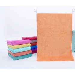 Полотенце для животных из микрофибры, персиковое