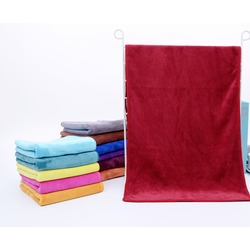Полотенце для животных из микрофибры, темно-красное