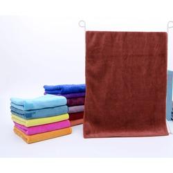 Полотенце для животных из микрофибры, бордовое