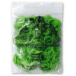 Lainee резинки для закрепления папильоток зеленые