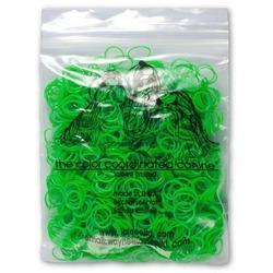Lainee резинки для топ-кнотов латекс зеленые размер L