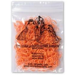 Lainee резинки для топ-кнотов латекс оранжевые размер L