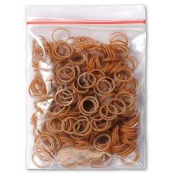 Lainee резинки для топ-кнотов латекс коричневые размер М