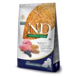 FARMINA N&D LG низкозерновой корм для щенков беременных и кормящих сук средних и крупных пород Ягненок с Черникой (N&D Low Grain Dog Lamb & Blueberry Puppy Medium & Maxi)