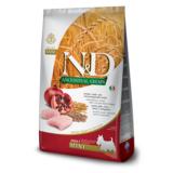 FARMINA N&D LG низкозерновой корм для собак мелких и карликовых пород Курица с Гранатом (N&D Low Grain Chicken & Pomegranate Adult)