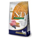 FARMINA N&D LG низкозерновой корм для собак мелких и карликовых пород Ягненок с Черникой (N&D Low Grain Lamb & Blueberry Adult)