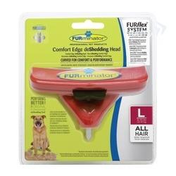 Furminator FURflex насадка-фурминатор против линьки L, для собак крупных пород
